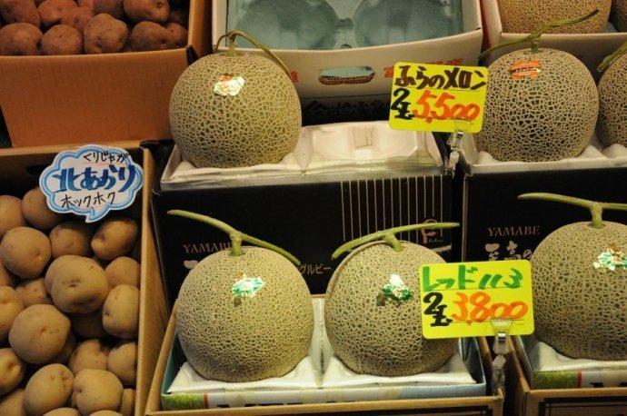 日本超市里的食品价格