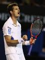 组图:穆雷复仇西里奇 进澳网决赛静候费德勒