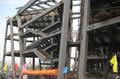 组图:建设中的世博会意大利馆 展亚平宁风情