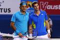 组图:2010年澳网男单决赛开打 费德勒VS穆雷