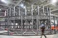 北京馆主体结构落成 5分钟天坛可变鸟巢(图)