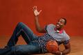组图:NBA全明星宣传照 霍华德酷爱耍宝