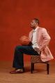 组图:NBA全明星宣传照 皮尔斯尽显绅士风度