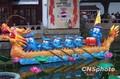 组图:喜迎元宵 上海豫园民俗灯会主打世博牌