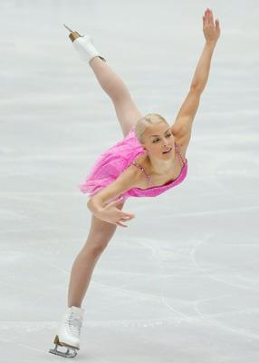 溜冰场美女