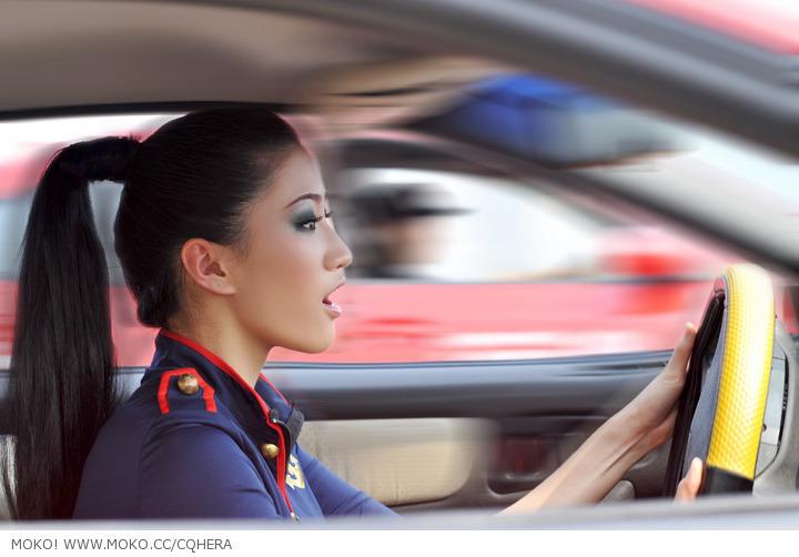 重庆三大美女 演绎极品飞车全过程 大成车模