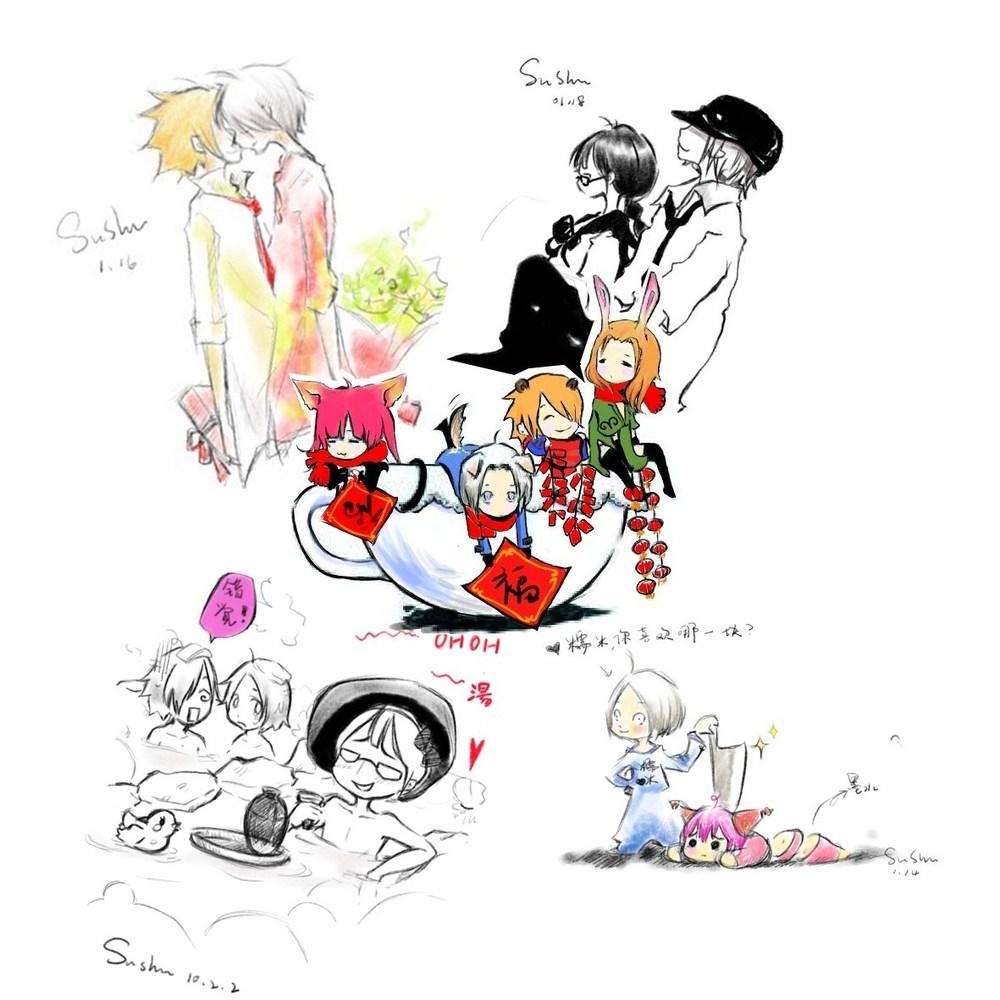 龙之谷玩家游戏角色手绘漫画