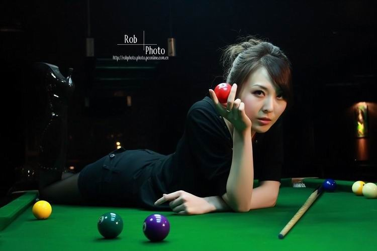 组图:桌球美女蓝蓝 劫个摄4734782