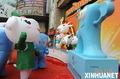 """组图:""""乐羊羊""""、""""海宝""""携手落户广州"""