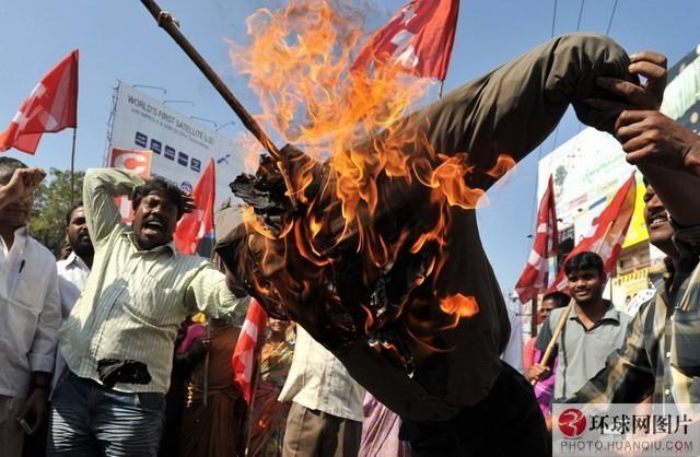印度:印度总理辛格曾表示,印度毛派武装(纳萨尔派)已经成为印度面临的