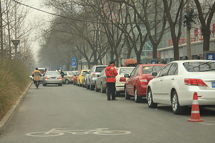 4日北京街景