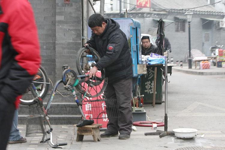 4日北京市民
