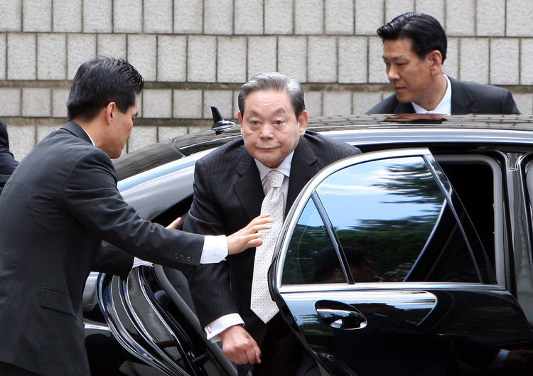 高清图:韩国政府特赦前三星总裁李健熙_新闻_