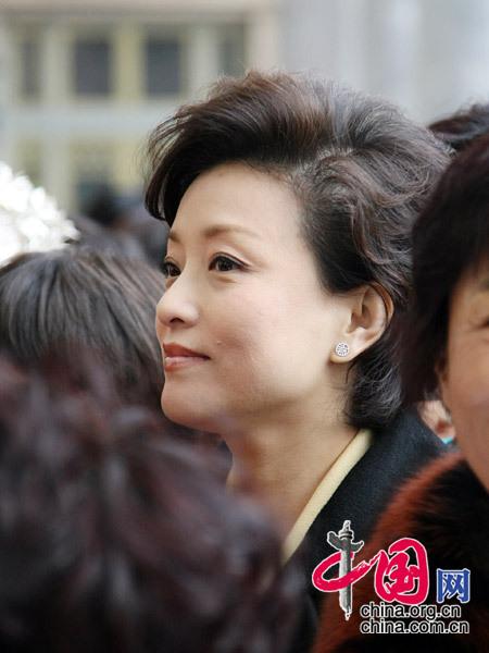 杨澜委员 (杨佳摄)