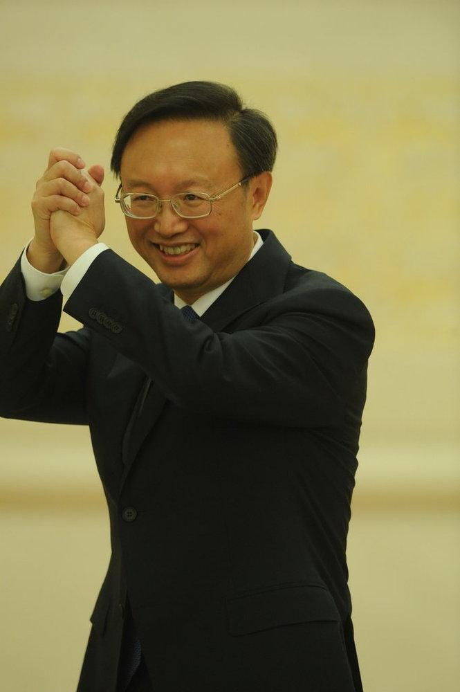 2010年3月7日,十一届全国人大三次会议举行记者会,外交部部长杨洁篪答记者问。江心/CFP 版权图片,请勿转载