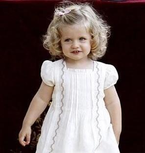 西班牙小公主:Leonor-全球王室小王子小公主大集合