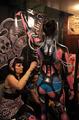 高清组图:世界纹身高手阿根廷大秀技艺
