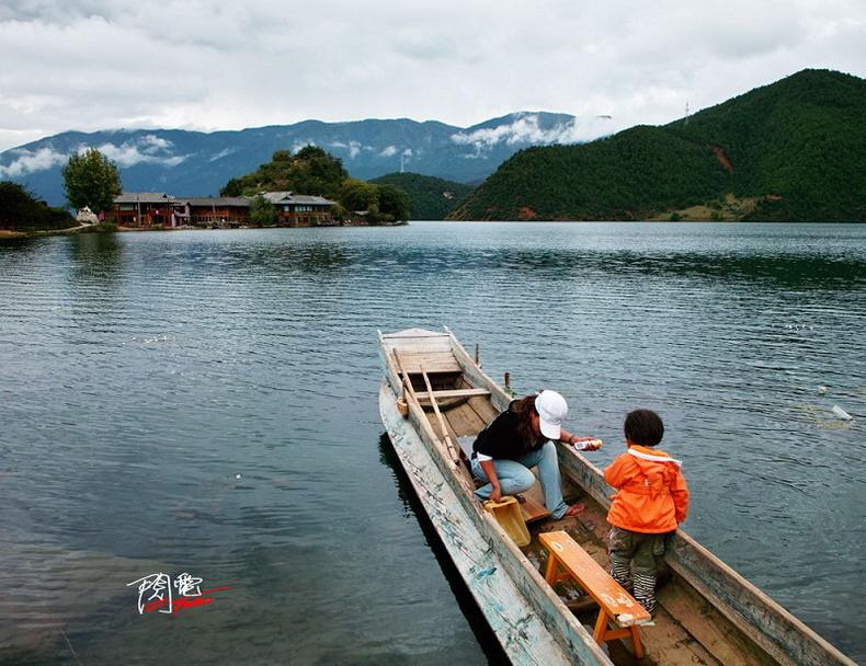 人间仙境 探秘东方女儿国泸沽湖 - CRH3-0001(动车先锋) - CRH3-0001(动车先锋)