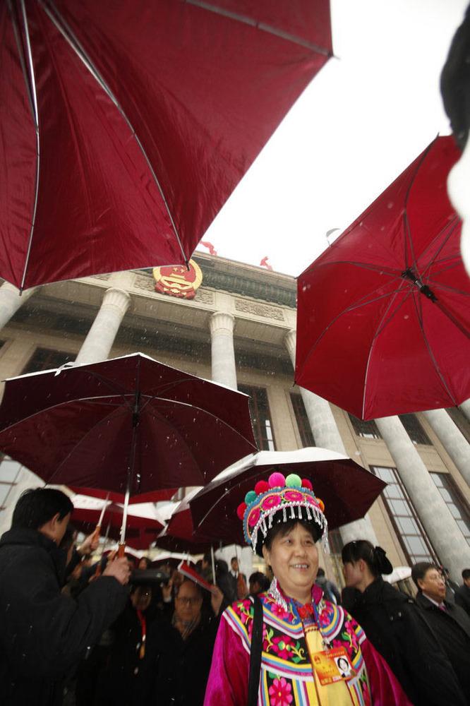 2010年3月14日,北京,十一届全国人大三次会议闭幕。来源:CFP 版权图片,禁止转载!