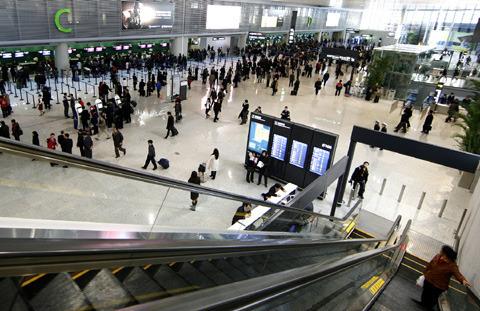 上海虹桥机场t2航站楼