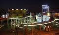 高清:争奇斗艳 上海世博园区各外国场馆试灯