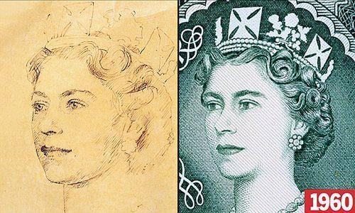 英国央行展示50年来纸钞上的女王面貌 - 浅笑无痕 - 浅笑无痕