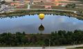 高清:国际热气球嘉年华开幕 22个热气球升空