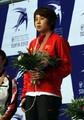 组图:王濛以一敌三 世锦赛500米三连冠