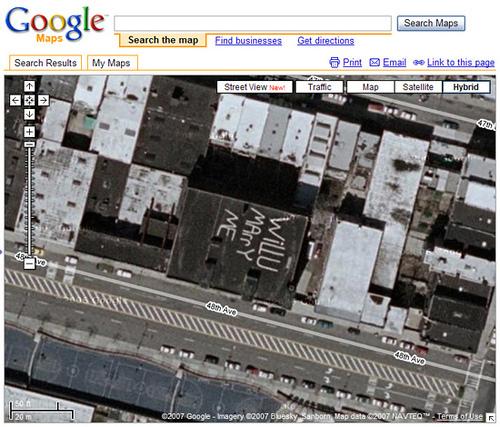 换个角度看地球 诡异的Google Earth图 - scaramouch - 记事本
