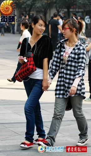 重庆春季街拍第二季 主城哪美女最多?组图