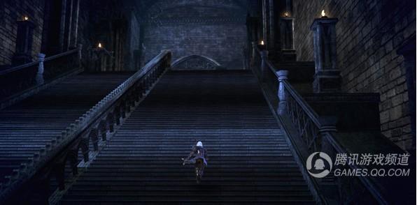 地下宫殿的阶梯