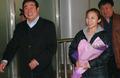 组图:李琰率短道男队回京 赵英刚机场迎接