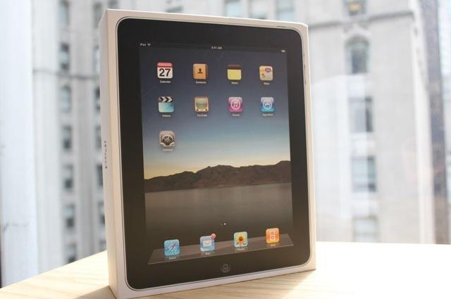 苹果iPad零售版包装