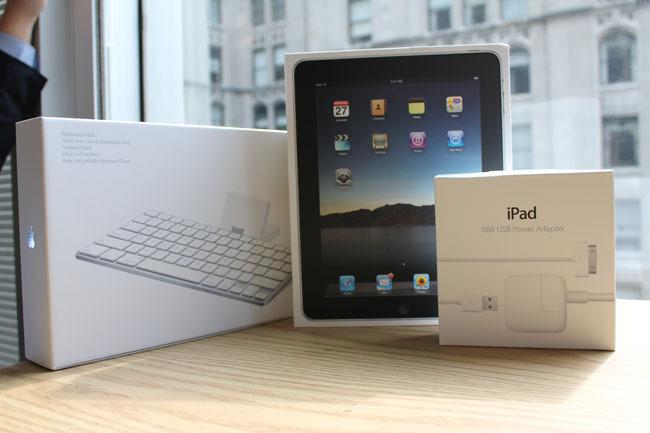 本次出镜的苹果iPad三大件