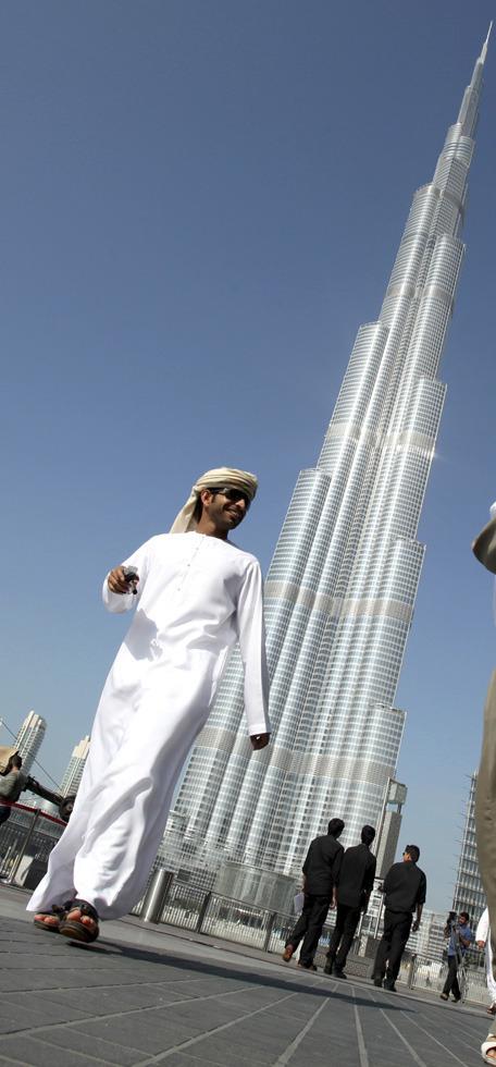 """高清:世界第一高楼""""迪拜塔""""盛大落成仪式"""