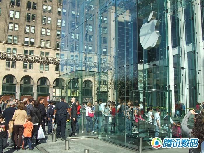 位于第5大道59街的苹果零售店