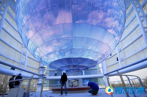 上海世博会展馆欣赏 - 几度夕阳红 -