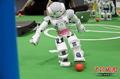 高清:2010机器人世界杯足球赛即将开战
