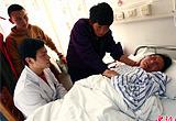 医院对怀孕地震伤员进行心理干预