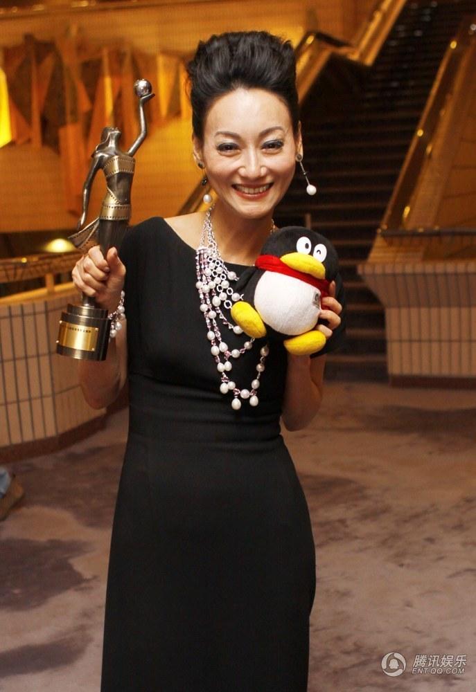 独家视频:金像奖最佳女主角惠英红采访