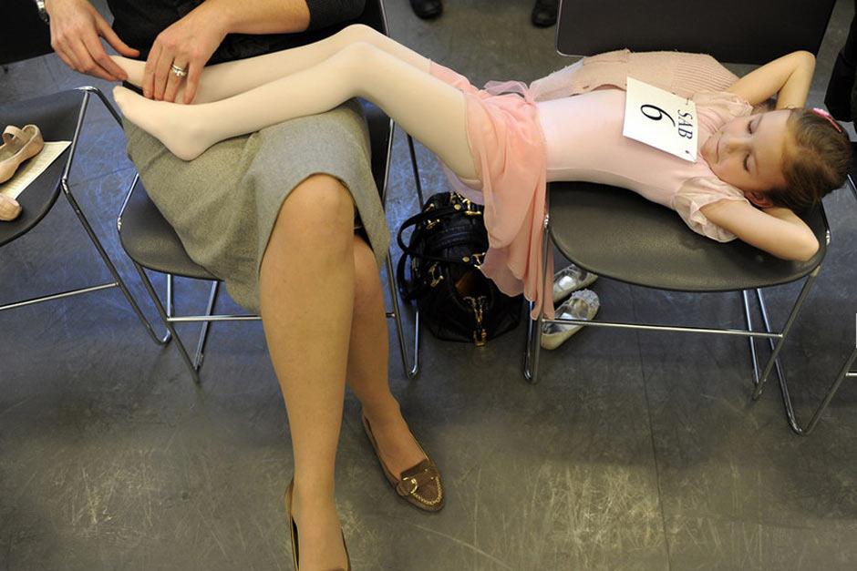 图片故事:美国小女孩的芭蕾梦