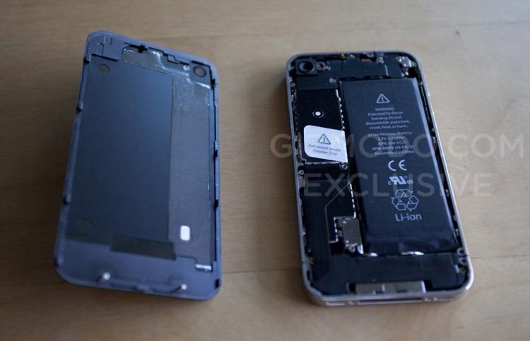 四代苹果iphone拆机图曝光