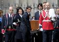 组图:萨马兰奇葬礼举行 纳达尔抬棺木送萨翁