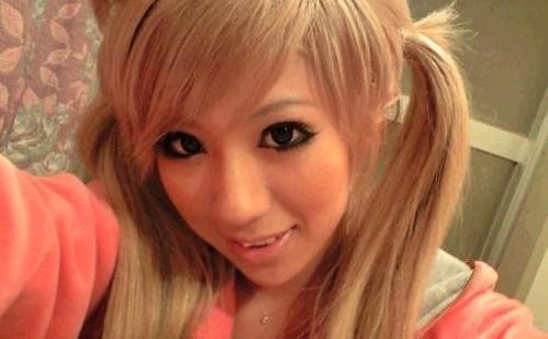 非主流女孩网上寻友称我只喜欢日本人