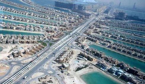 组图:迪拜棕榈岛上的超级奢华别墅
