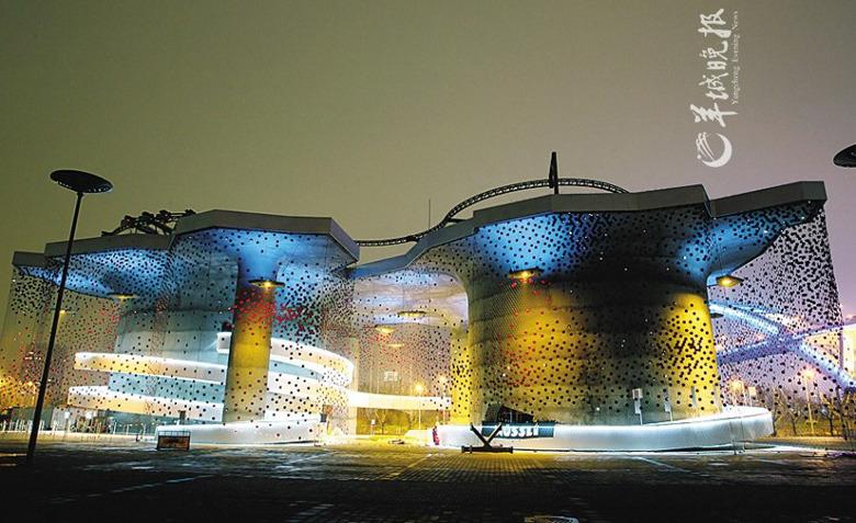 高清:优雅迷人 世博荟萃建筑之美