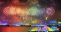 高清:上海世博会开幕式大型灯光喷泉焰火表演