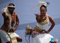 高清:热情洋溢的太平洋现代舞 献艺世博开园