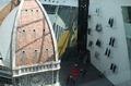 高清:意大利馆展2米多高超级礼服秀奢华时尚