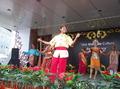 高清:马来西亚多民族歌舞表演展现热情国度